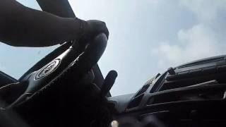 Gen driving at North Luzon Expressway