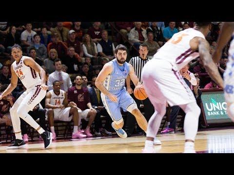 UNC Men's Basketball: Tar Heels Fall at Virginia Tech, 80-69