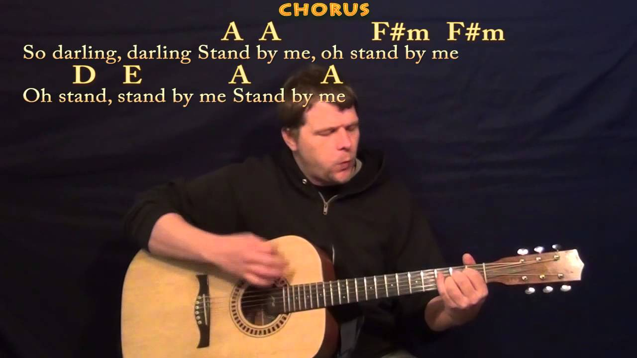 Stand By Me Ben E King Strum Guitar Cover Lesson With Chords