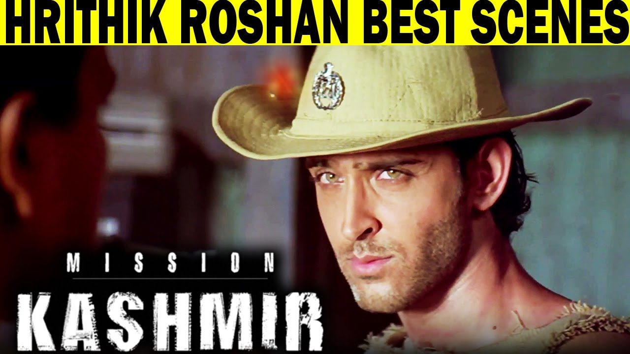 Best Scenes of Hrithik Roshan From Mission Kashmir | Best Hindi Scene
