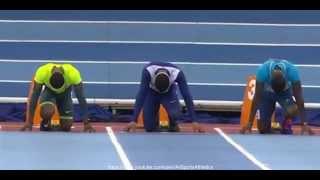 IAAF Indoor Grand Prix birmingham 2015 - Michael Rodgers 6.57 - Men