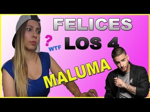 REACCIÓN MALUMA - FELICES LOS 4 // Key Riqué