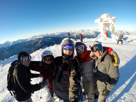 Whistler New Year's Ski Trip Video