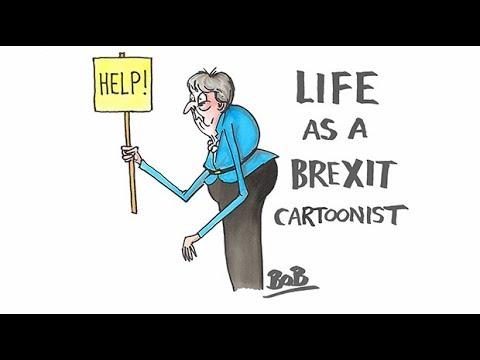 Behind The Brexit Scenes With Telegraph Cartoonists Matt Pritchett And Bob Moran