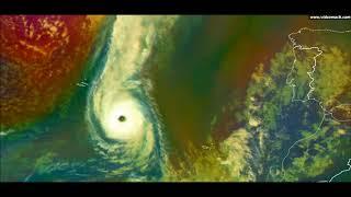 Ophelia hurrikán / Hurricane Ophelia (2017)