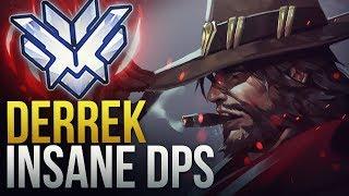 Derrek - INSANE LADDER NA DPS - Overwatch Montage
