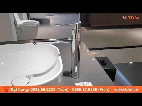 TDM.VN | Vòi Lavabo Caesar B751C Cổ Cao Lắp Chậu Rửa Mặt đặt Bàn Giá 2.700.000đ