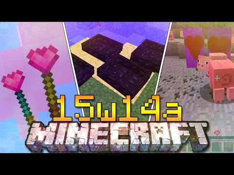 Minecraft ITA - Snapshot 15w14a: Più Cuori, Barca di Ossidiana, Bastoni Magici LOVE AND HUGS UPDATE