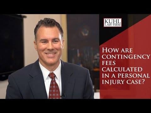 How are Contingency Fees Calculated in a Personal Injury Case?