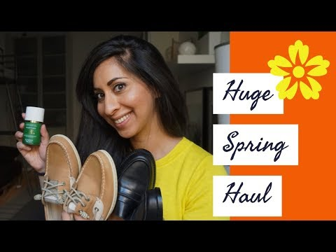 huge-spring-haul-2018!-fashion-+-beauty!-(madewell,-sunday-riley,-mansure-gavriel)