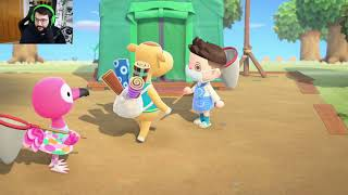 VISITO VUESTRAS ISLAS - Animal Crossing New Horizons - Directo 9