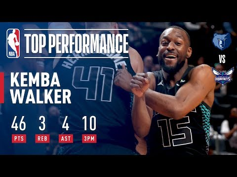 Kemba Goes OFF and DROPS 46 Points In 28 Minutes!