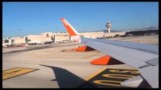 Easyjet Flight 2271- Landing at Palma Airport.