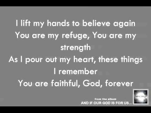 Chris Tomlin: I Lift My Hands - Official Lyric Video