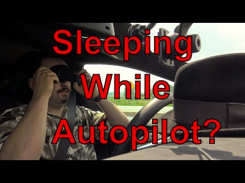 Tesla Model S driver caught sleeping at the wheel while on Autopilot