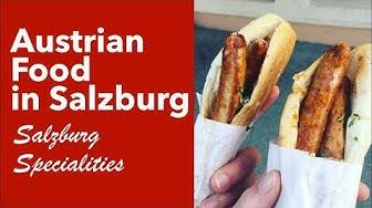 Austrian Food in Salzburg - Salzburg Specialities