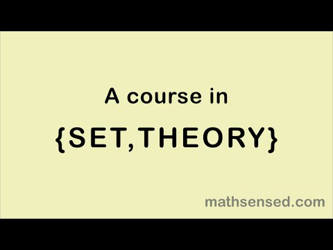 download Set Theory | E01 An Introduction to Sets