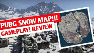 PUBG Snow Map Leaked! Full Snow Map Review, Gameplay   Coming Soon