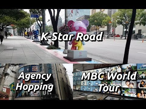 VLOG | South Korea 2017 Day 6: K-Star Road + Agency Hopping + MBC World Tour