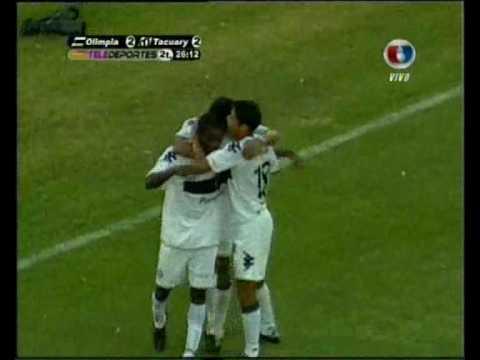 www.elDecano.net - Olimpia vs. Tacuary - Gol 2 - Apertura 2010