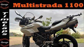 2009 Ducati Multistrada 1100 Sports air cooled beast. ridden not hidden.