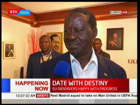 Exclusive: Raila Odinga and Ida Odinga express their readiness for the polls
