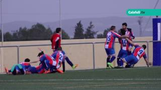 Calafell esportiu: Futbol 12/02/2017 |  Joventut Bisbalenca C.F. 1-0 Calafell C.F.
