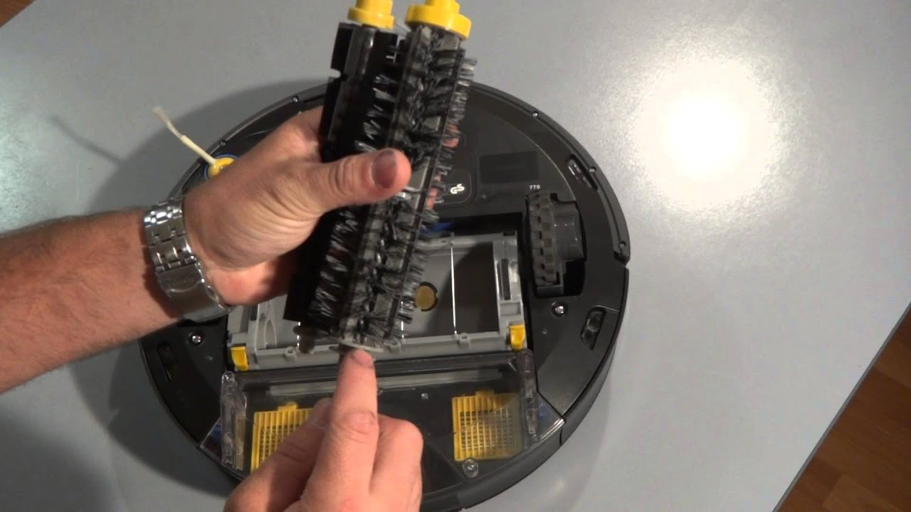 How to Clean and Replace the Main Brushes on the iRobot Roomba 700 Series