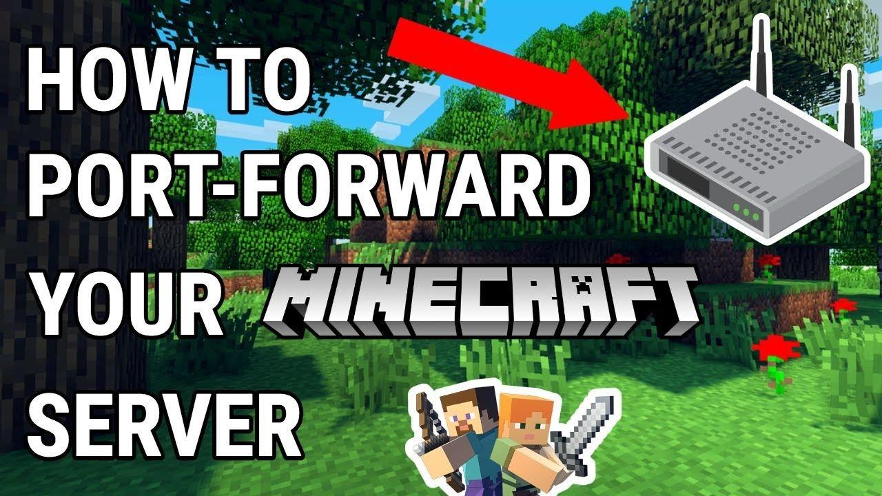 how to easily portforward a minecraft server mac