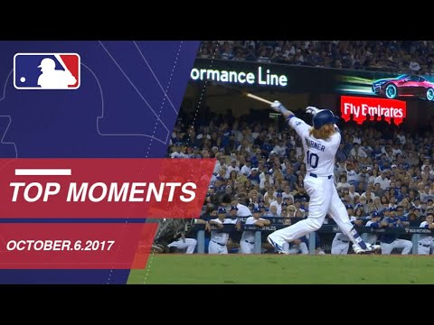 Dodgers down D-backs, plus nine more moments around MLB: 10/6/17