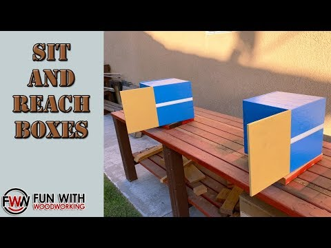 How to make Sit and Reach boxes