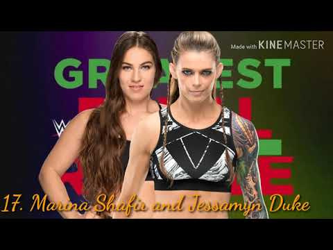 WWE Women's Greatest Royal Rumble 2020 for become the first ever WWE Women's Champion