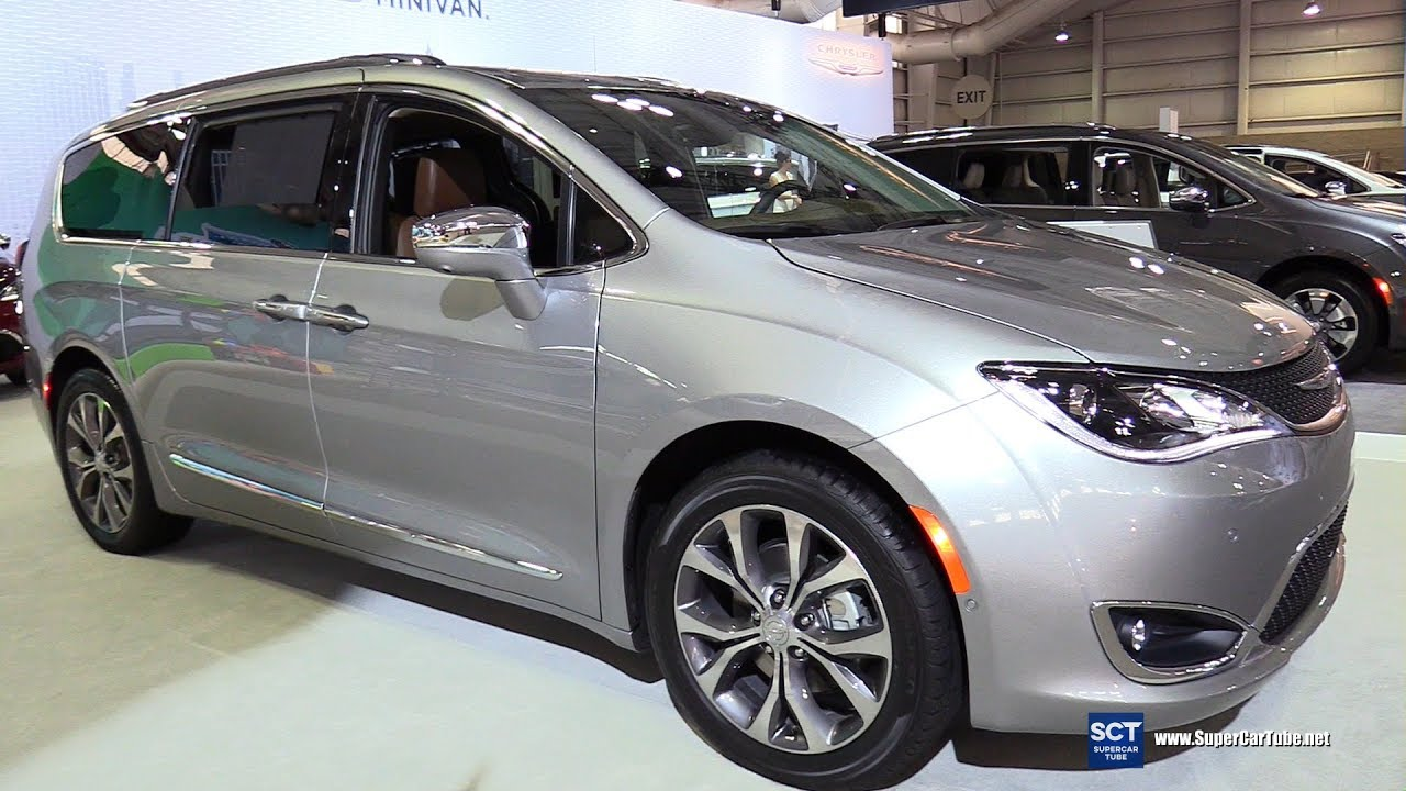 2017 Chrysler Pacifica Limited Exterior And Interior Walkaround New York Auto Show