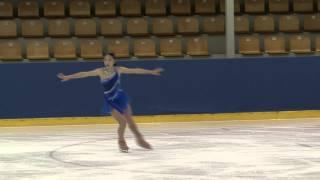 17 Yuka NAGAI (JPN) - ISU JGP Riga Cup 2013 Junior Ladies Free Skat...