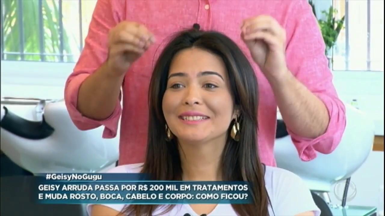 6b9d0e39d Geisy Arruda gasta R  200 mil por transformação no visual - YouTube