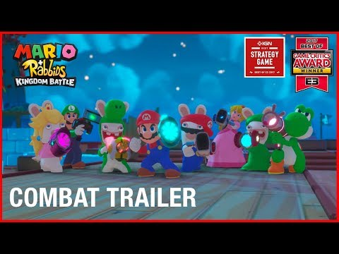 Mario + Rabbids Kingdom Battle: Combat | Gameplay Trailer | Ubisoft [US]