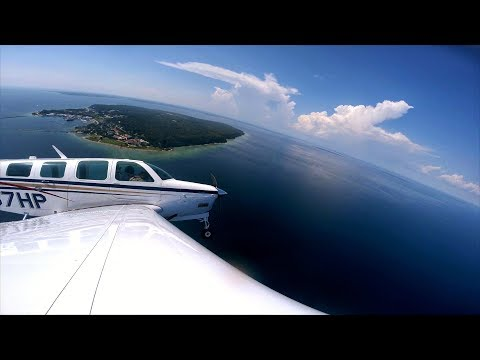 Bugs That Mess with Airspeed??! - Flying to Mackinac Island