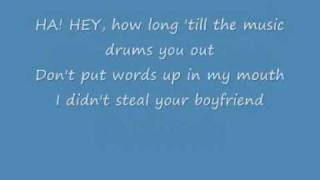 Boyfriend Ashlee Simpson + lyrics
