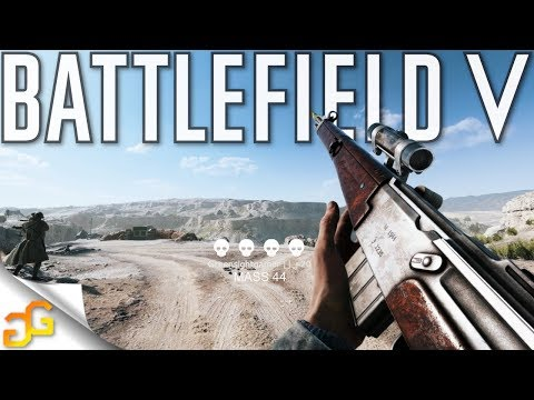 New MAS 44 is the BEST Assault Gun! Battlefield 5 MAS 44 Review thumbnail
