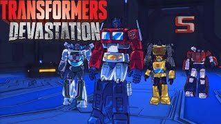 transformers devastation blm 5 bsk