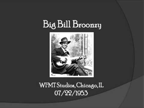 【TLRMC012】 Big Bill Broonzy with Studs Terkel 07/22/1953