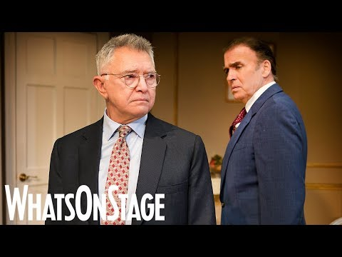 Martin Shaw and the cast of The Best Man  West End
