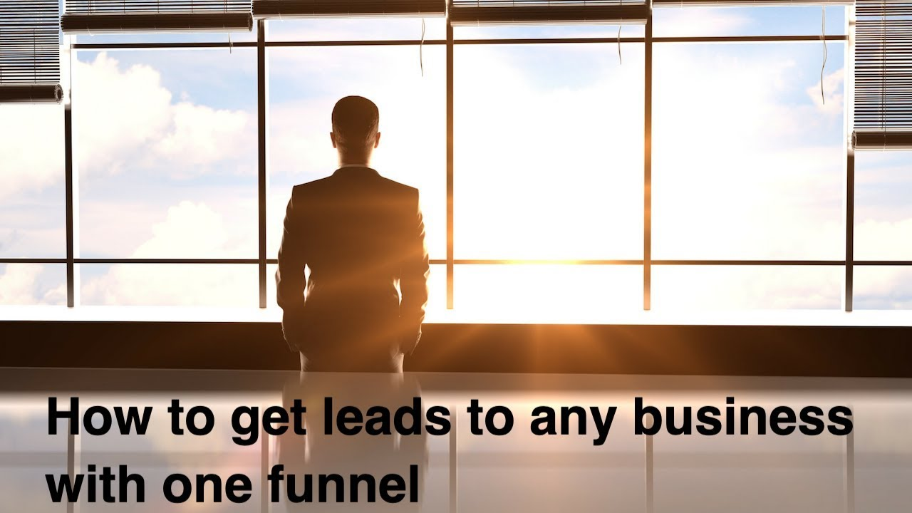 Clickfunnels Tutorial 2019 -How to get leads and sales with one funnel (any business)
