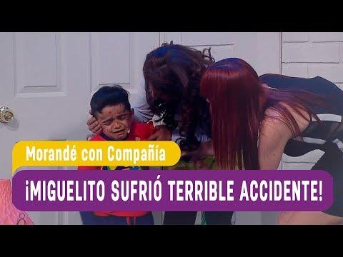 ¡Miguelito sufrió terrible