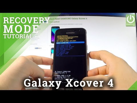 SAMSUNG Galaxy Xcover 4 RECOVERY MODE
