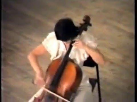 Luigi Boccherini sonata n°6 Viktoria Mathiessen Gantchikova cello Elena Gantchikova piano