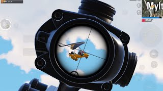 I shot the man on the glider 😱😱