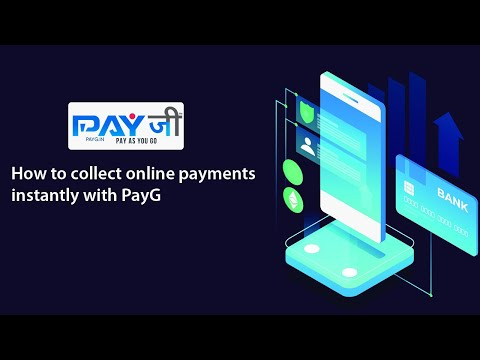How to collect online payments instantly with PayG