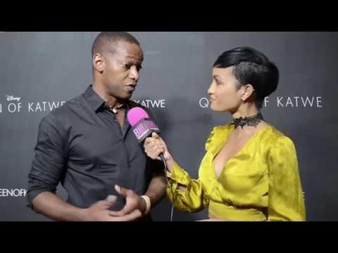 Delpaneaux Wills @ Queen of Katwe Premiere