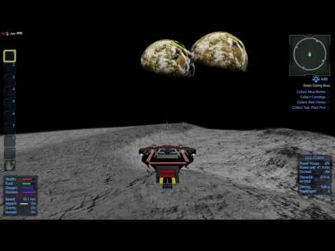 Empyrion Galactic Survival - Mining on the Moon
